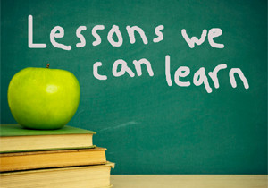 Why Learning The Lesson Will Change Your Life